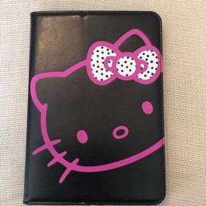 Nib Hello kitty iPad  mini portfolio case.  New